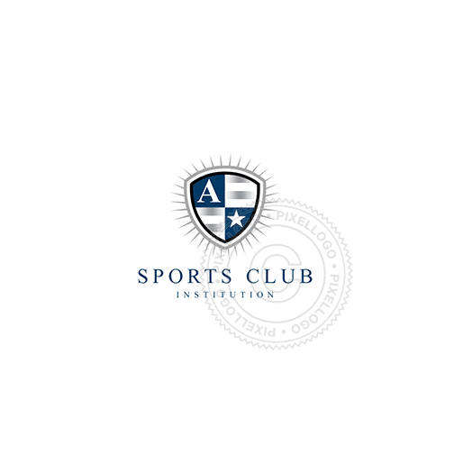 Crest Shield-Logo Template-Pixellogo