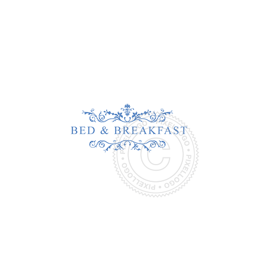 Floral Bed And Breakfast - Pixellogo