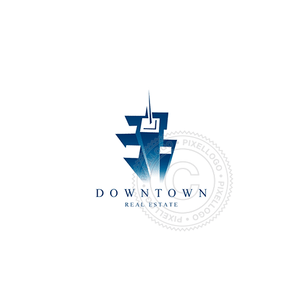 Downtown - Pixellogo