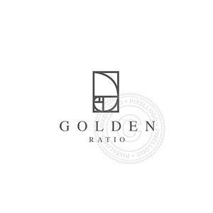 Golden Ratio - Pixellogo