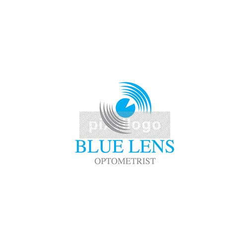 Eye Lens Logo - pupil close up | logodive
