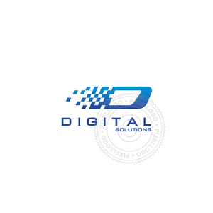 Digital Streaming-Logo Template-Pixellogo