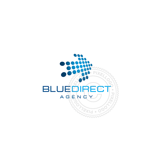 Blue Arrow Digital - Pixellogo