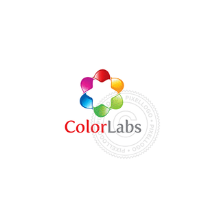 Color Wheel Design - Pixellogo