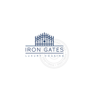 Iron Gates Real Estate - Pixellogo