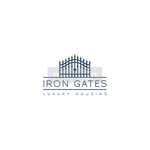 Iron Gates logo - real estate broker | logodive