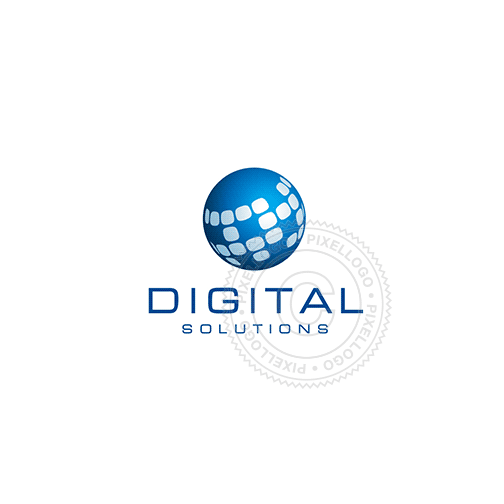 Global Broadcasting Network-Logo Template-Pixellogo