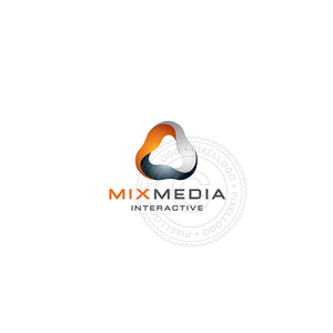 Interactive Media Design-Logo Template-Pixellogo