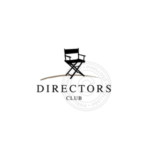 Director Chair Free Logo - Pixellogo