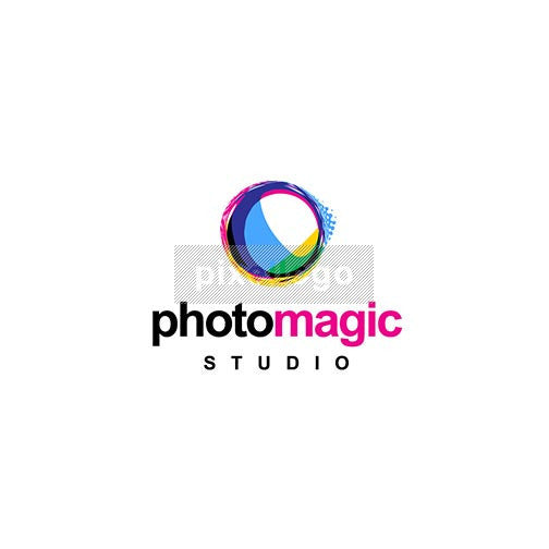 Photography Lens - Pixellogo