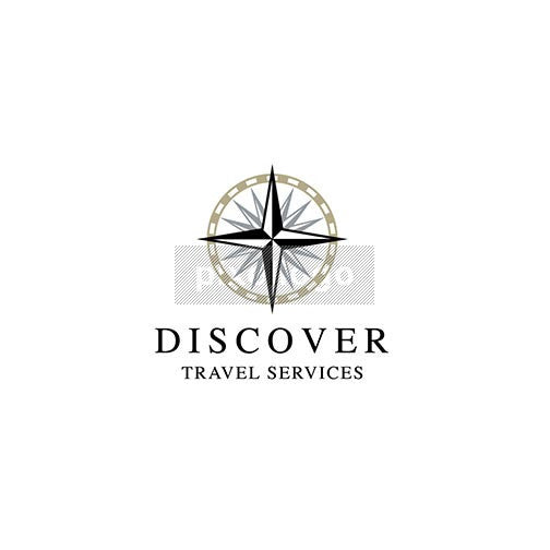 Adventure Travel Services Compass logo - Pixellogo
