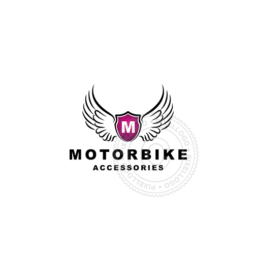 Motor Bike Shop Garage - Pixellogo