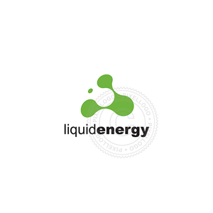 Liquid Energy - Pixellogo