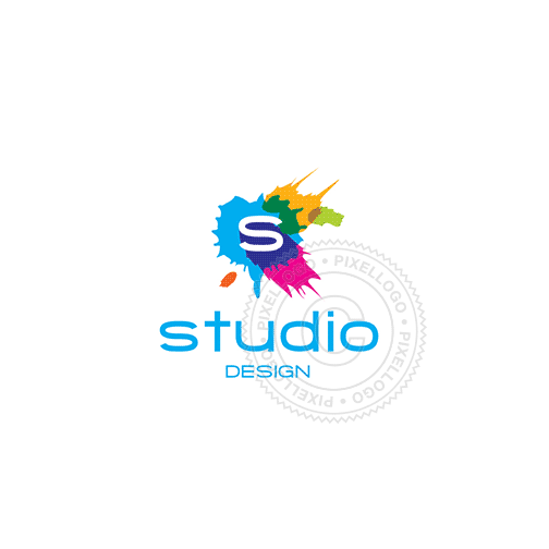 Digital Retouching Studio-Logo Template-Pixellogo