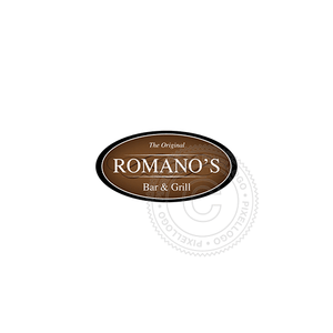 Bar And Grill Restaurant - Pixellogo