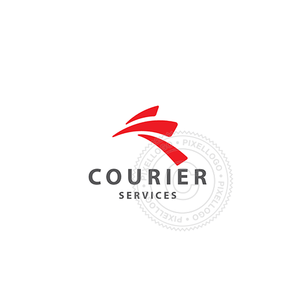Fast Courier Services - Pixellogo