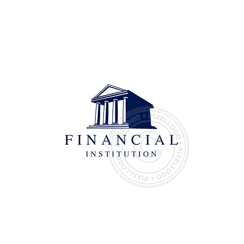 Financial Institution Building - Pixellogo