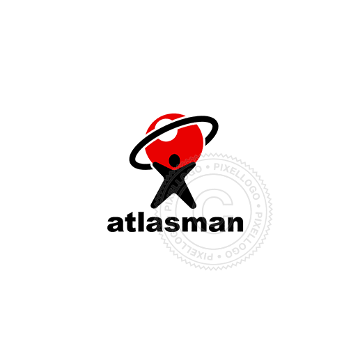 Atlas Man Broadband-Logo Template-Pixellogo