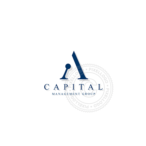 Capital A Corporate-Logo Template-Pixellogo