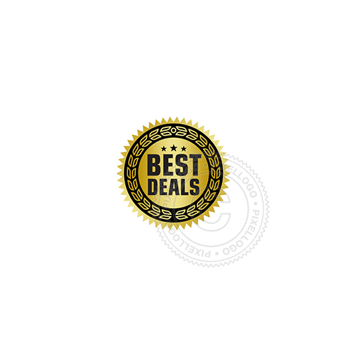 Best Deal Seal - Pixellogo