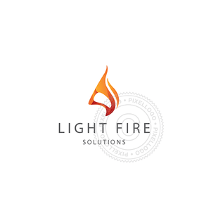 Red Flame Design - Fire Logo | Pixellogo