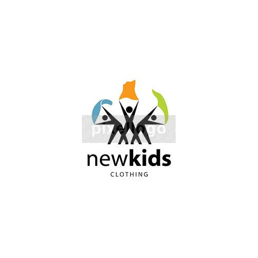 Kids Clothing Store - Pixellogo