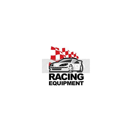 Racing Car Parts - Pixellogo