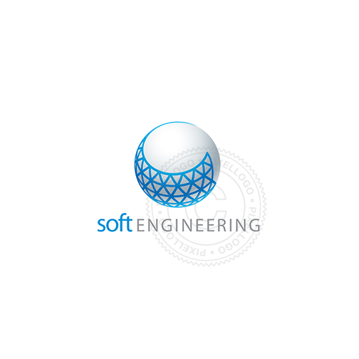 3D Engineering Software Solution - Pixellogo