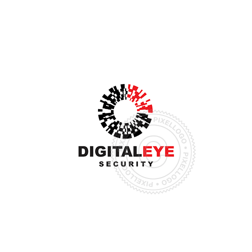 Eye Scan - Pixellogo