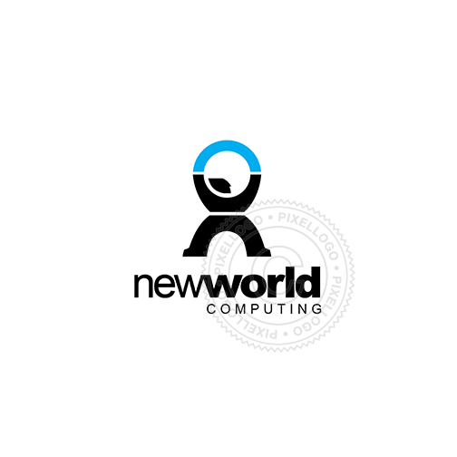 New World Consulting-Logo Template-Pixellogo