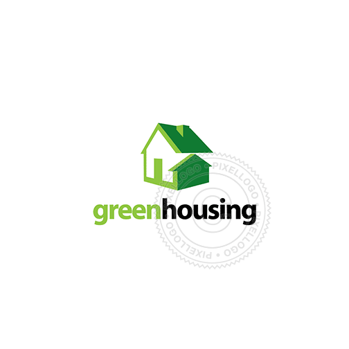 Eco Friendly Housing - Pixellogo