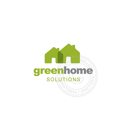 Green Housing Solutions - Pixellogo