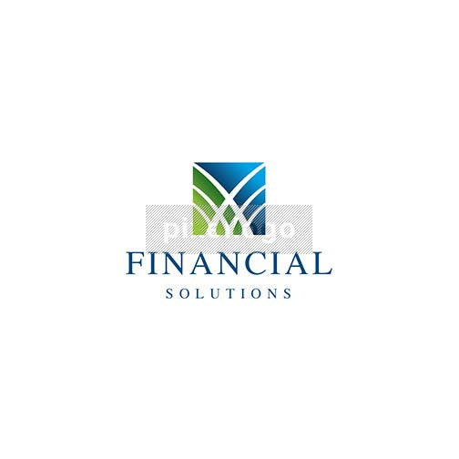 Financial Success - Pixellogo