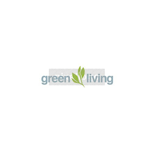 Green living - lead and branch Logo - pixellogo