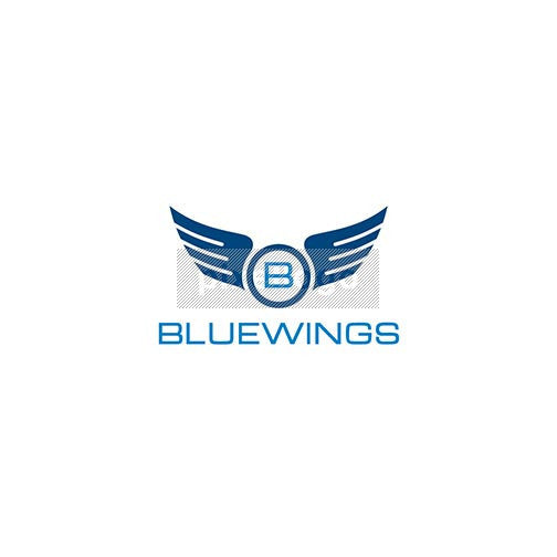 Blue Wings - Aviation Logo - pixellogo