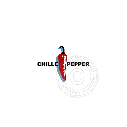 Red Pepper-Logo Template-Pixellogo
