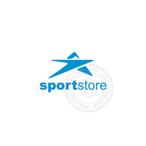 Sports Shop-Logo Template-Pixellogo