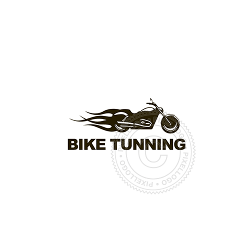 Custom Bike Builders - Pixellogo