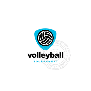 Volleyball Tournament-Logo Template-Pixellogo