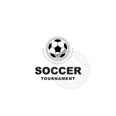 Soccer Tournament-Logo Template-Pixellogo