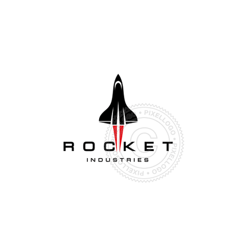 Rocket Industries - Pixellogo