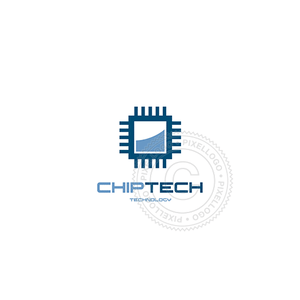Chip Technology - Pixellogo