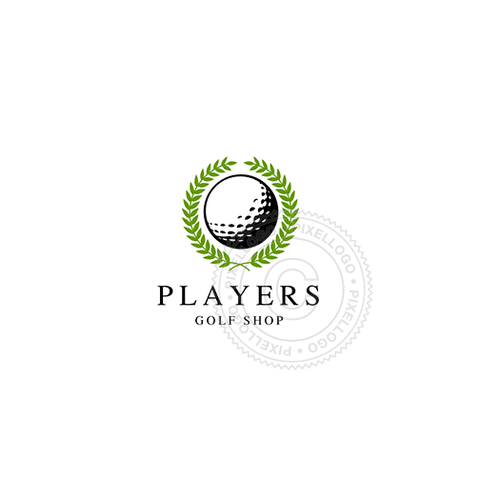 Golf Tournament - Pixellogo