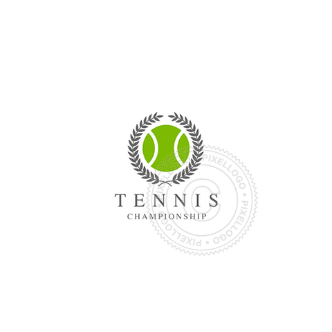 Tennis Match - Pixellogo