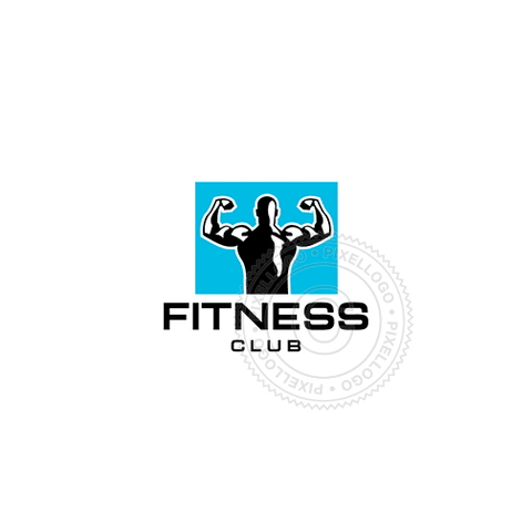 Fitness Club - Pixellogo