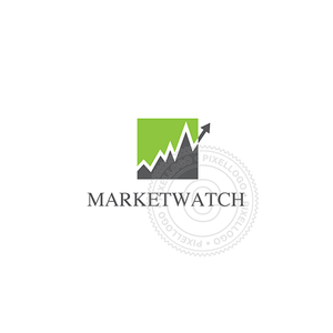 Market Watch-Logo Template-Pixellogo