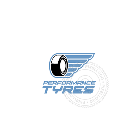 Tire Shop - Pixellogo