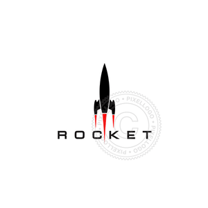Rocket Boost - Pixellogo