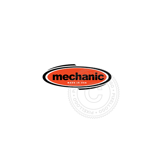 Mechanic Shop-Logo Template-Pixellogo