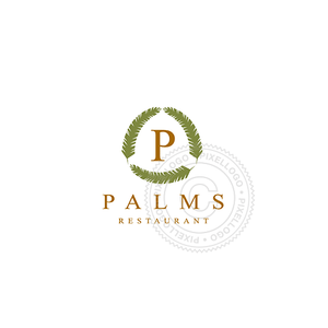 Green Palms - Pixellogo